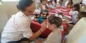 Kinderschminken Taufe
