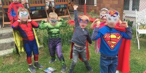 Superheldengeburtstag