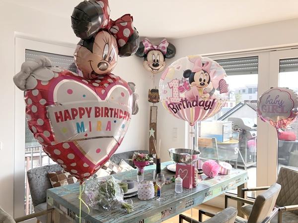Erster Geburtstag Minnie Mouse